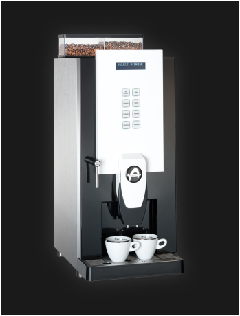 Aequator Guatamala, jong gebruikte, gereviseerde koffiemachine