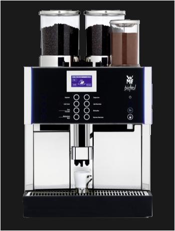WMF Bistro, jong gebruikte, gereviseerde koffiemachine
