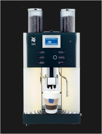 WMF Presto, jong gebruikte, gereviseerde koffiemachine