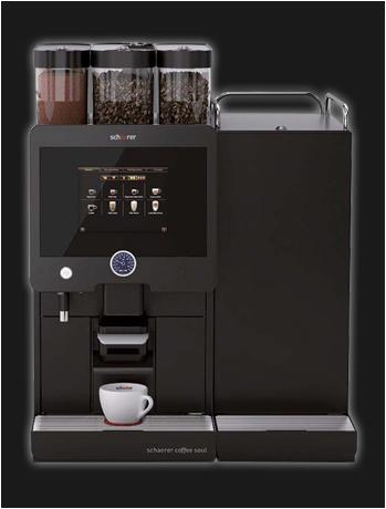 Schaerer Coffee Soul jong gebruikte, gereviseerde koffieautomaat