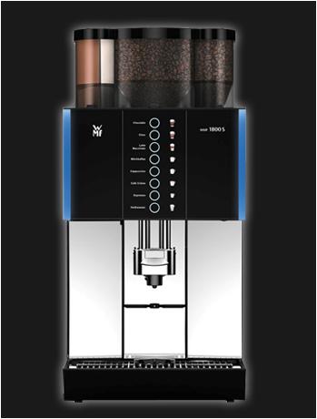 WMF 1800s, jong gebruikte, gereviseerde koffiemachine