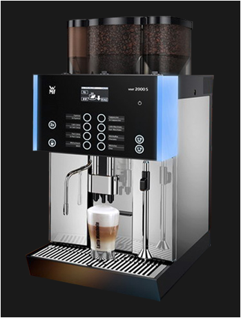 WMF 2000s, jong gebruikte, gereviseerde koffiemachine