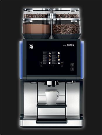 WMF 8000s, jong gebruikte, gereviseerde koffiemachine
