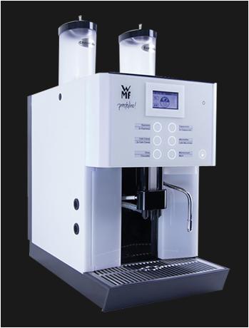 WMF Prestolino, jong gebruikte, gereviseerde koffiemachine