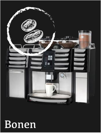 Gebruikte, gereviseerde en nieuwe Espresso Koffiemachine met versgemalen bonen