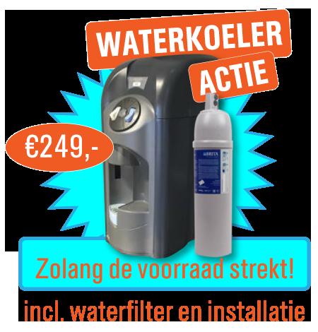 Waterkoeler actie
